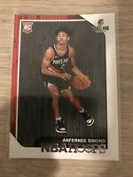 Anfernee Simons 2018-19 Panini NBA Hoops Rookie RC #277 Mint Trail Blazers