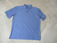 Footjoy Golf Polo Shirt Adult Extra Large Blue Dri Fit Golfer Rugby Casual Mens