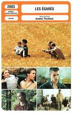 FICHE CINEMA : LES EGARES - Béart,Ulliel,Téchiné 2003 Strayed
