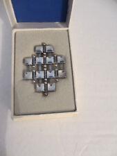 Vintage Modern David Andersen Norwegian Marianne Berg Brooch Pin original box