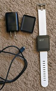 LG G Smart Watch (LG-W100) - White Edition - Android Wear OS - Excellent