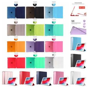 Smart Cover Hard Back Case for Apple Air4 iPad 9th 8th 7th 6th 5th Gen mini Pro