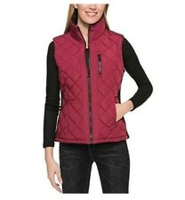 Andrew Marc Ladies Ribbed Knit Quilted Vest Size S⭐AUTHENTIC⭐