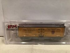 N SCALE ATLAS #50001747 40' WOOD REEFER BRINKS & SONS #8052 NEW.