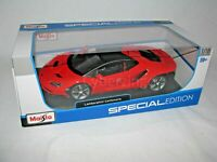 Lamborghini Centenario Maisto 1:18 Scale Red Diecast Model Car NEW IN BOX
