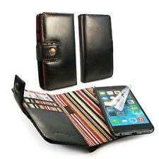Alston Craig CUOIO E-SCAPE TEC portafoglio RFID Blocco BLK custodia per iPhone 6 / 6S -