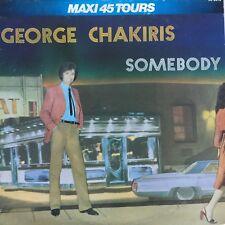 "VINILO - MAXI 45T -12"" -GEORGE CHAKIRIS "" ALGUIEN """