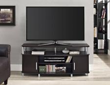 Carson 50 in. TV Stand Flat Screen Entertainment Media Center Furniture Espresso