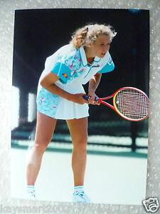 Tennis Press Photo- ANDREA STRNADOVA - Czech Republic Player (apx. 21.5x15 cm)