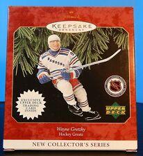 Hallmark Ornament Wayne Gretzky Hockey Greats New Collector's Series #1 1997 Nib