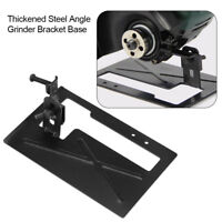 Thickened Steel Electric Angle Grinder Stand Angle Cut Support Bracket Holder JS