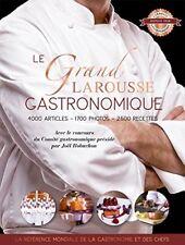 Le Grand Larousse gastronomique Hachette Book 9782035948052 Relié