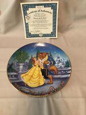 bradford exchange disney collector plates