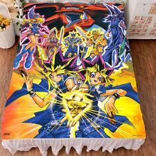 Yu-Gi-Oh! Dark Magician Girl Cosplay Otaku Anime Flat Bed Sheet Blanket Bedding