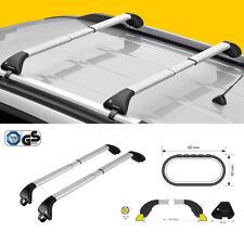 Barre portatutto FAPA per CITROEN NEMO// NEMO VAN con railing dal  2008 alluminio