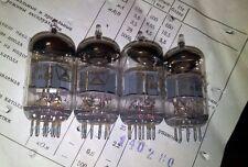 4 * 6n1p 80er años doble triodo tubo nos ~ ecc88 6dj8 6922 industria embalaje de cartón