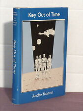 2 signatures(author,ed),Time Traders 4:Key Out of Time, Andre Norton,Gregg Press
