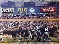 1962 Detroit Lions NY Giants Photo Vintage NFL Image Yankee Stadium Mets picture