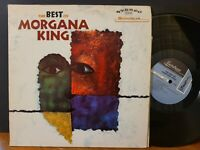 THE BEST OF MORGANA KING Vinyl LP 1968 Jazz Vocal VG+