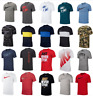 Nike T Shirts Mens Small to 3XL Authentic Dri Fit Short Sleeve Crew Neck Tees