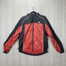 Vintage Windbreaker Jacket Small ATA World Martial Arts Full Zip Taekwondo Red