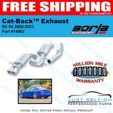 Borla Cat-Back Exhaust fits 00-02 Audi B5/S4 2.7T 6cyl AWD #14902