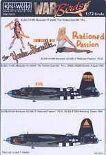 Kits World Decals 1/72 MARTIN B-26 MARAUDER Yankee Guerilla & Rationed Passion