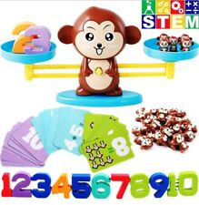 Monkey Balance Counting Toys Games Math Educational Teaching Tool Learn Numbers