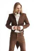 Men's New STEAMPUNK GOTHIC Tail Coat JACKET Victorian