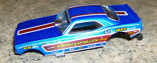 """""""NEW"""" AW LEGENDS REL 20 4 GEAR WHIPPLE & MCCULLOCH  HO SLOT CAR BODY ONLY"""
