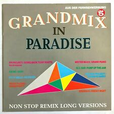 GRANDMIX IN PARADISE - 1990 German Euro House Music Compilation FPI Project VG+