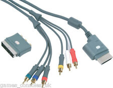 OFFICIAL XBOX 360 HD AV CABLE + SCART ADAPTER!