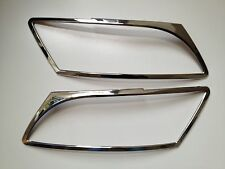 AUDI Q5 CHROME ABS HEAD LIGHT TRIMS ,2008-14.