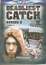 DEADLIEST CATCH SERIES 2 EPISODES 1-5 - 3 DVD BOX SET