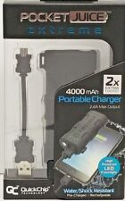 Tzumi Extreme PocketJuice External battery pack with High Powered LED Flashlight
