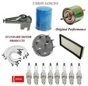 Tune Up Kit Filters Wire Spark Plugs For FORD E-250 ECONOLINE V8 5.8L 1992-1996