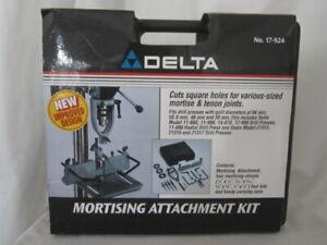 Delta Accessory Model 17-935/17-924 MORTISING ATTACHMENT KIT Drill PressNEW (LK