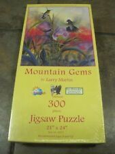 MOUNTAIN GEMS ~ 300 PC. PUZZLE FROM SunsOut, LARGE FORMAT, NEW, SEALED