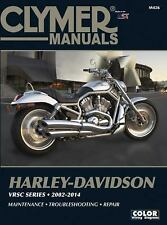 Harley-Davidson VRSC Series 2002-2007 (Clymer Color Wiring Diagrams)-ExLibrary