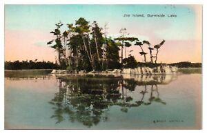 Early 1900s Jap Island, Burntside Lake, MN Hand-Colored Postcard