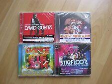LOT REVENDEUR 4 CD NEUF SOUS BLISTER/BLACK M-GUETTA-