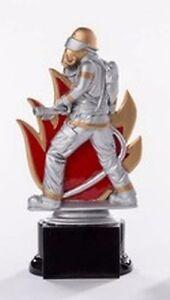 Feuerwehr-Pokal (Resin-Figur) mit Wunschgravur (39168)