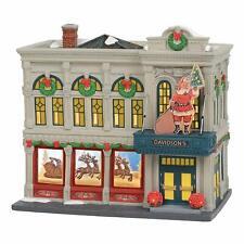 Davidson's Department Store Dept 56 6003057 Christmas In The City Village snow Z