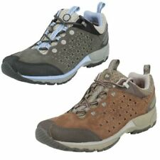 Hiking & Walking Shoes Lace Up Textile Trainers for Women