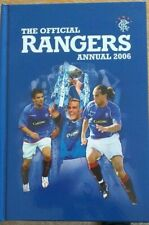 The Official Rangers FC Annual 2006 - Hardback -very good condition