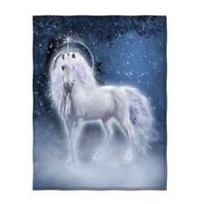Unicorn Throw Blanket Soft Teen Girls Adults Travel Fleece Cover Decor Set Queen
