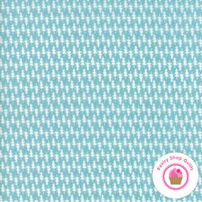 Moda HOMETOWN CHRISTMAS Icey Aqua Blue Trees 5664 26 Sweetwater QUILT FABRIC