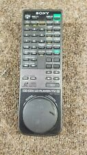 SONY RMT-S605A ORIGINAL LASER DISC REMOTE CONTROL FOR MDP605 AND OTHER MODELS