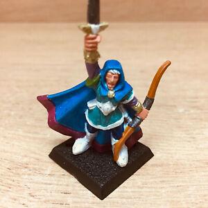 Warhammer Quest Elf Miniature Painted (Dungeons & Dragons, Heroquest, Talisman)