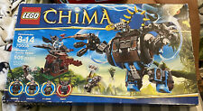 New Sealed Box LEGO Legends of Chima Gorzan's Gorilla Striker 70008 Rare 505 Pcs
